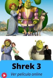 Shrek 3 ver película online