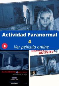 Actividad Paranormal 4 ver película online