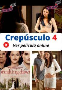 Crepúsculo 4 ver película online