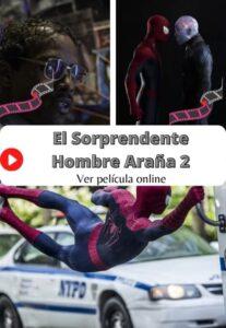 El Sorprendente Hombre Araña 2 ver película online