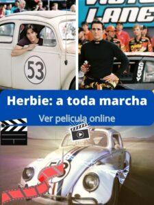 Herbie a toda marcha ver película online