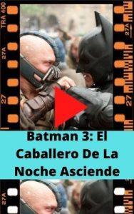 Batman 3: El Caballero De La Noche Asciende