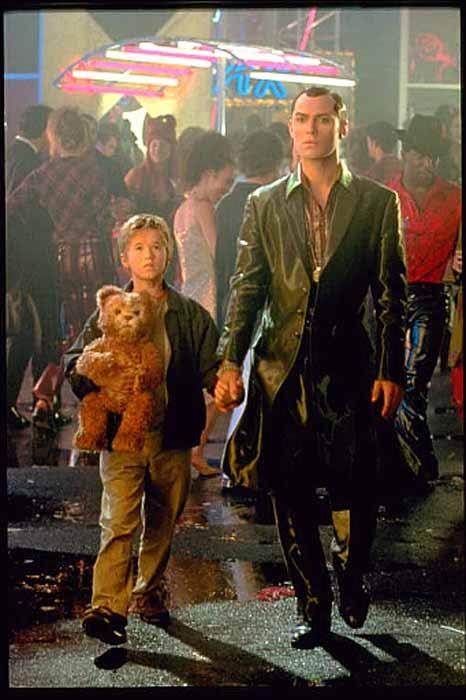 escena de la película: inteligencia artificial 2001