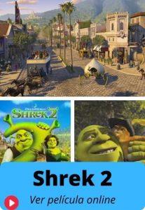 Shrek 2 ver película online