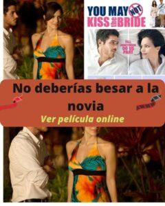 No deberías besar a la novia ver película online